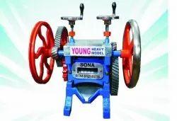 Semi-Automatic Six Gear Sugarcane Juice Machine