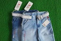 Party Wear Printed Kids Denim Jeans, Size: 20x34, Machine Wash