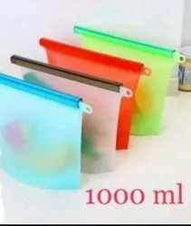 SILICONE FRIDGE POUCH 1000ML CAPACITY