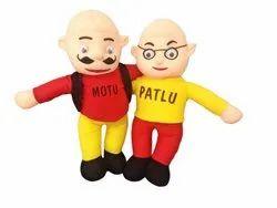 Plastic Motu Patlu Toy