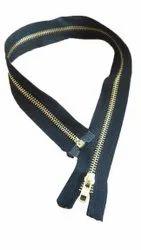 For Jacket Black Brass Metal Zippers