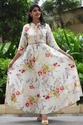Cotton Stitched Ladies Suits, Machine wash