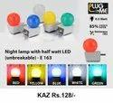 Night Lamp With Haif Watt LED