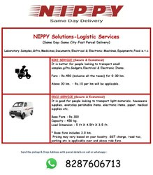 Upto 1000 Kg Logistic Service Logistics Support Services