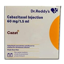 60 Mg In 1.5 Ml Cabazitaxel Injection