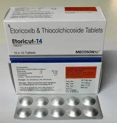 4Mg Etoricoxib Thiocolchicoside Tab