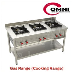 3 Stainless Steel Omni Gas Cooking Range