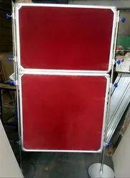 Foldable Notice Board