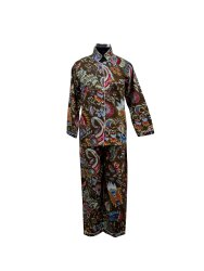 Brown Screen Cotton printed Night Suit