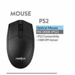 Frontech MS-0008 Wired Optical PS2 Mouse