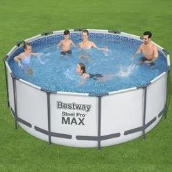Bestway 10Ft. Round Max Frame Pool