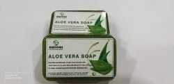 Natural Bhoomi's Aloevera Homemade Soap With Basil Essential Oil, Packaging Type: 75gm