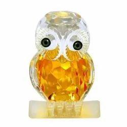 Feng Shui Crystal Owl