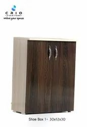 CRIO Wooden Shoe Rack 203, Shoe Rack Capacity: 5 Colume, Size: 30*13*30 Inches