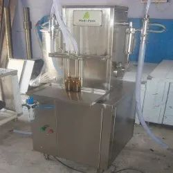 Semi Automatic Shampoo Filing Machine