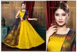 Embroidered Ladies Designer Long Gown