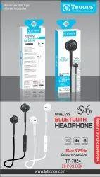 TP Troops Wireless Headphone S6 7024  (Box -25)  Earphone