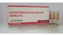 Glycopyrrolate Injection USP 200mcg / ml