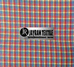 Gwalior Checks School Uniform Fabric 67/33 PC