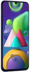 Slim Samsung Galaxy M21 (Midnight Blue, 4GB RAM, 64GB Storage)