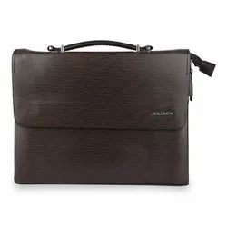 Killer Messenger Bag With Laptop Compartment-brown