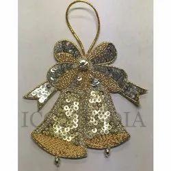 Handmade Christmas Bells Hanging