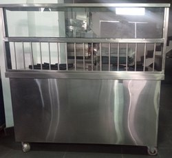Commercial Food Counter Two Burner