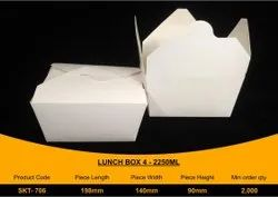 Disposable Paper Lunch Box 2250ml