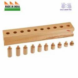 Edu Edge Wooden E8004 Cylinder Blocks