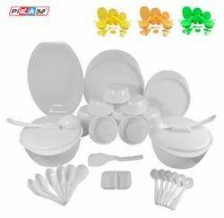 Plastic Microwave Dinner Set
