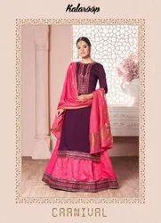 Kalaroop Carnival Silk Fancy Readymade Salwar Suit Catalog