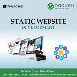 PHP/JavaScript Static Website Designing Service