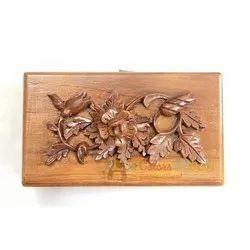 Natural Wood Wooden Decorative Box