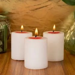 Heart Shape Pillar Candle