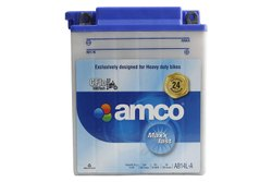 Capacity: 14 Ah Amco AB14L-A Heavy Duty Bike Battery