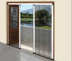 UPVC Mosquito Net Door