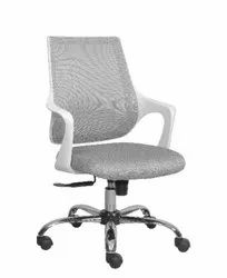 Executive Medium Back Chair - Mono White