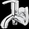 Plantex Pure Brass Aqua 2-way Bib Cock With Wall Flange, For Bathroom Fitting