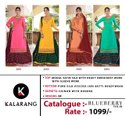 Kalarang Blueberry Vol 4 Modal Satin Silk With Embroidery Work Designer Suit Catalog