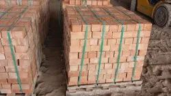 Clay Cuboid Construction Red Brick, Size: 9x4x3 Inch