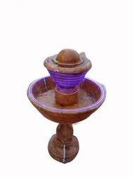 Recyclable Decorative Stone Water Fountain, For Hotel