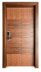 6.5 Feet Hinged Laminated Wooden Door, For Home