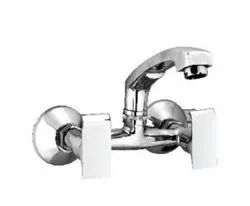 Empire Wall Mount Stainless Steel Sink Mixer Water Tap
