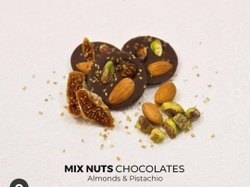 Round Mix Nut Chocolate
