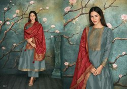Varsha Launch Samarqand Vol 2 Pure Silk Summer Wear Best Salwar Kameez Collection