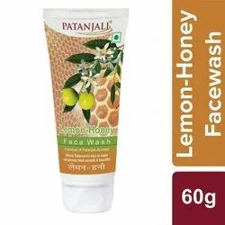 Herbal Patanjali Lemon Honey Face Wash, Age Group: Adults, Packaging Size: 60 G