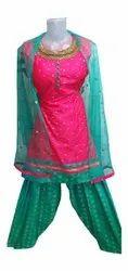 Casual Wear Ladies Fancy Patiala Salwar Suit