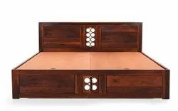 Wooden Bed King Size