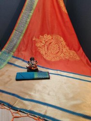Present Soft Silk Good Looking Saree With Beautiful Design