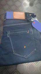 Plain Gray Mens Comfort Fit Denim Jeans, Waist Size: 30